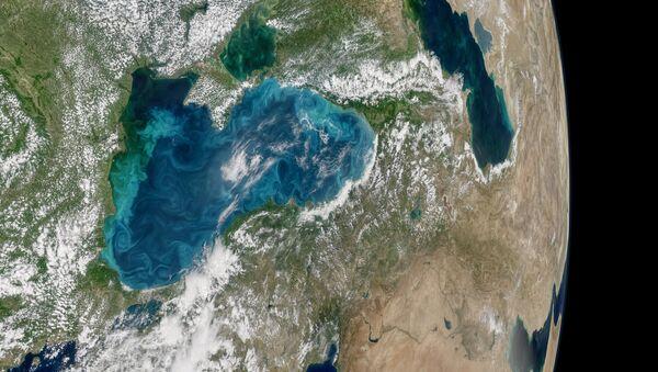 Pogled na Crno more iz svemira - Sputnik Srbija