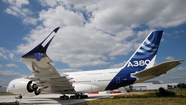 Najnoviji model A380 aviona kompanije Erbas - Sputnik Srbija