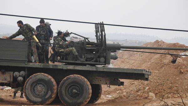 Сиријски војници - Sputnik Србија