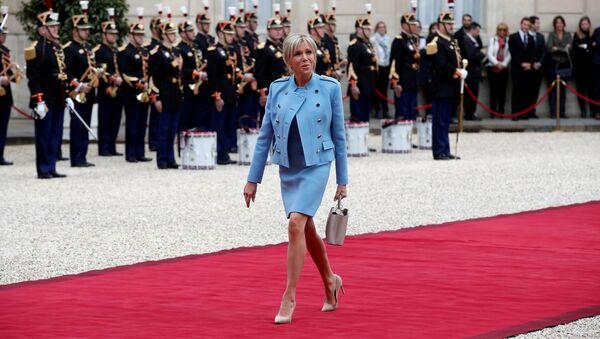 Супруга француског председника Брижит Макрон - Sputnik Србија