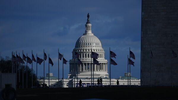 Pogled na Kapitol u Vašingtonu - Sputnik Srbija