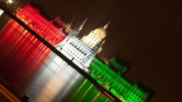 Зграда мађарског парламента - Sputnik Србија