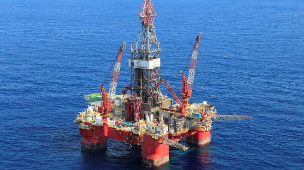 Нафтна платформа у Мексичком заливу - Sputnik Србија