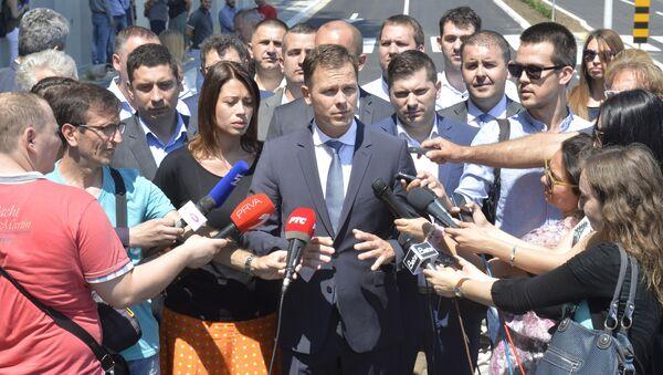 Градоначелник Београда Синиша Мали - Sputnik Србија
