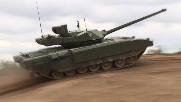 Demonstracija tenka T-14 Armata - Sputnik Srbija