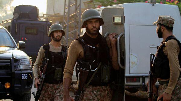 Пакистански војници. - Sputnik Србија