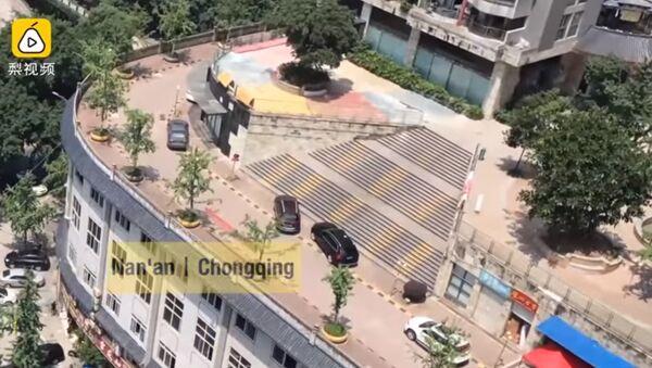 Parking i kolovoz na zgradi u Kini - Sputnik Srbija