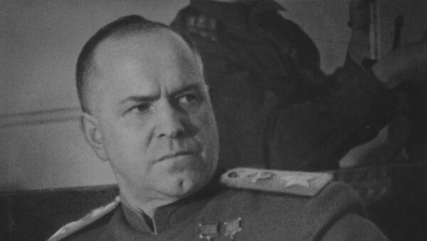 Sovjetski vojskovođa, maršal Sovjetskog Saveza, Georgij Konstantinovič Žukov - Sputnik Srbija