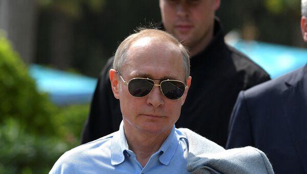 Predsednik Rusije Vladimir Putin tokom posete Krimu - Sputnik Srbija