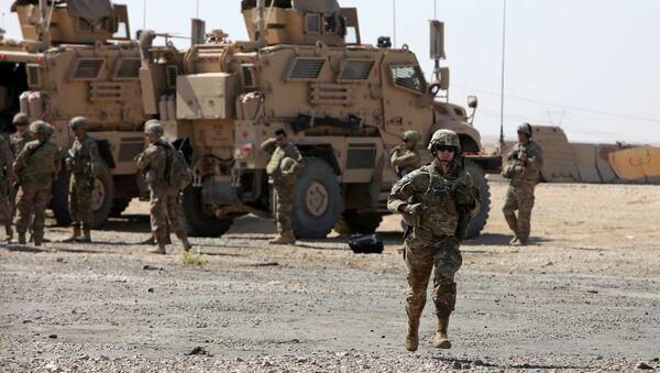 Амерички војници у бази у Ираку - Sputnik Србија
