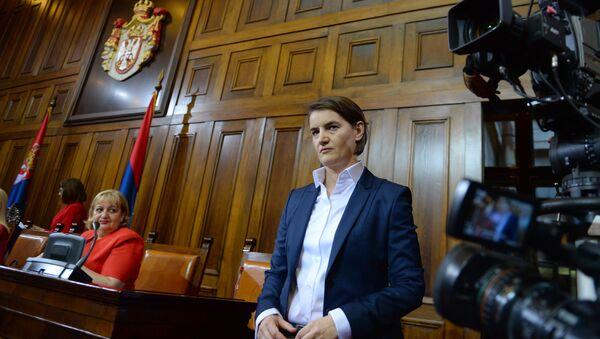 Ana Brnabić, premijerka Srbije - Sputnik Srbija