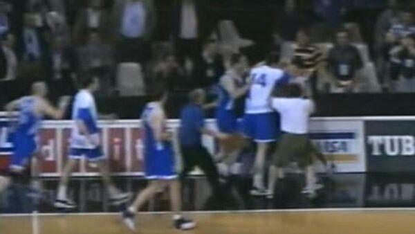 Košarkaška utakmica SRJ-Hrvatska, Barselona 1997 - Sputnik Srbija
