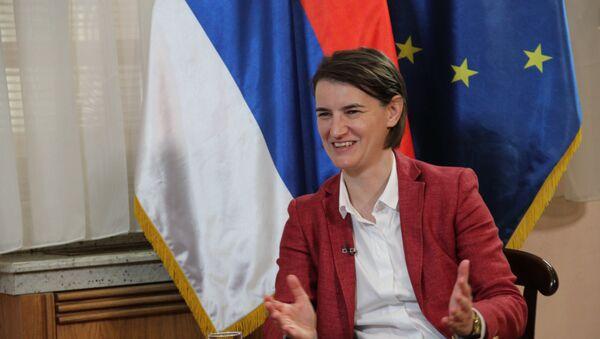Ана Брнабић - Sputnik Србија