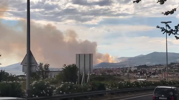 Пожар, Трогир - Sputnik Србија