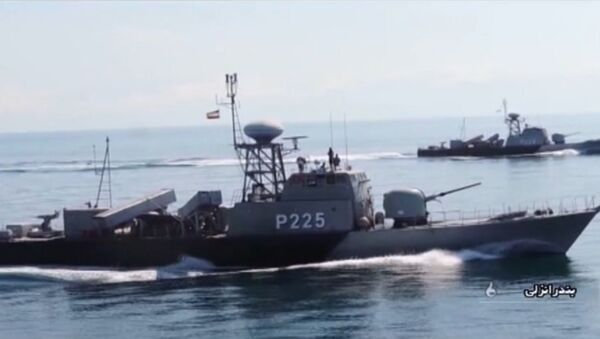 Serbia_ Учения ВМФ Ирана - Sputnik Србија