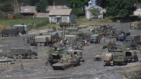 Vojna baza ruske vojske u Južnoj Osetiji - Sputnik Srbija