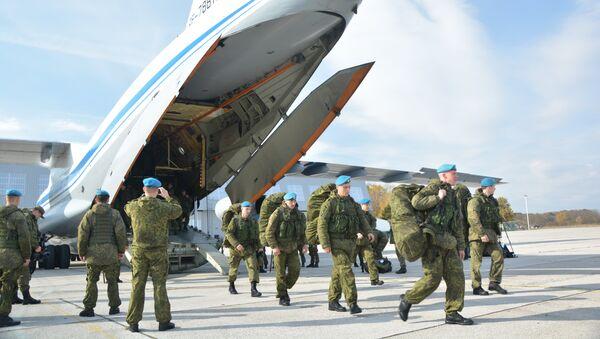 Doček ruskih i beloruskih vojnika u Srbiju - Sputnik Srbija