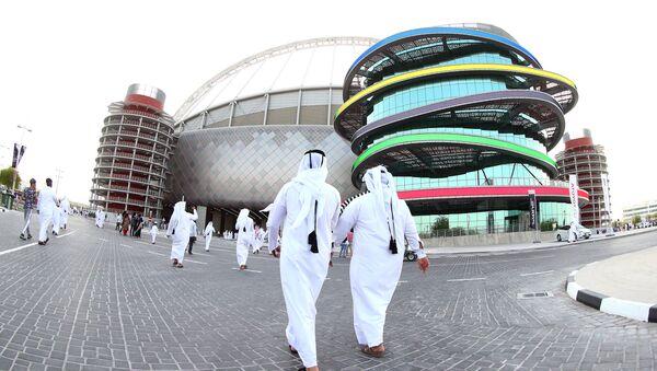 Međunarodni stadion Kalifa u Dohi, Katar. - Sputnik Srbija