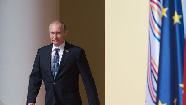 Predsednik Rusije Vladimir Putin dolazi na samit G20 u Hamburgu - Sputnik Srbija