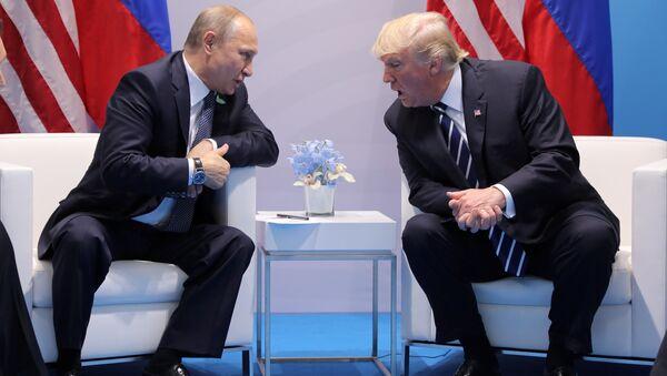 Састанак Владимира Путина и Доналда Трампа - Sputnik Србија