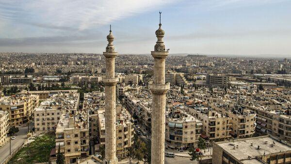Поглед на сиријски град Алеп - Sputnik Србија