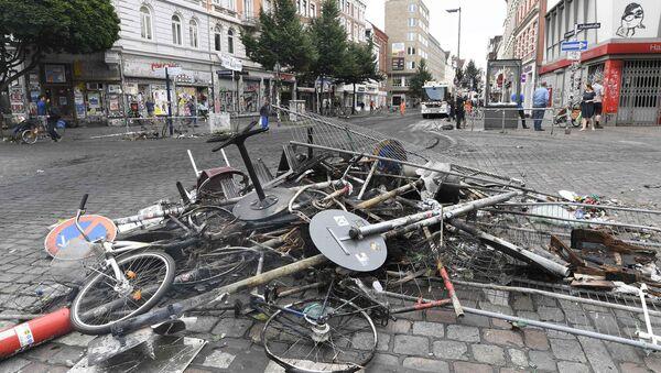 Хамбург након протеста - Sputnik Србија