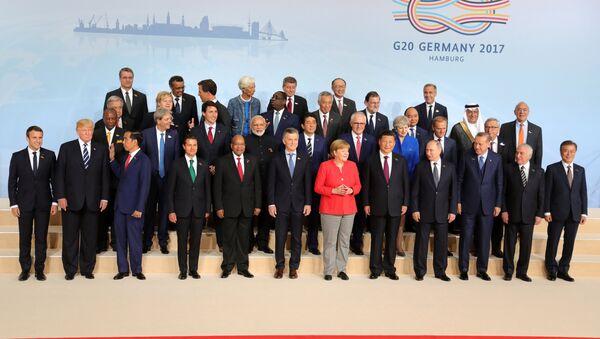 Самит Г20 у Хамбургу - Sputnik Србија