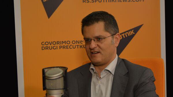 Vuk Jeremić u studiju Sputnjika - Sputnik Srbija
