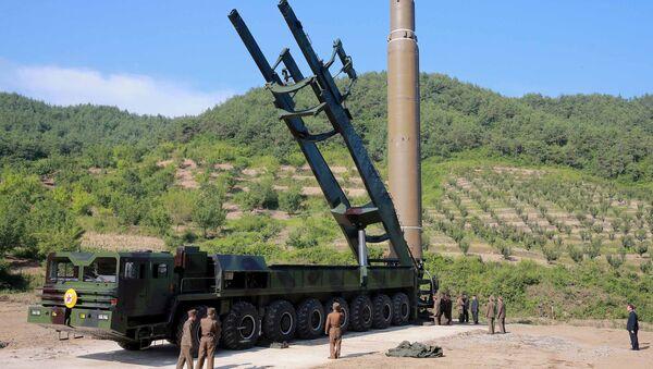 Interkontinentalna balistička raketa Hvasong-14 - Sputnik Srbija