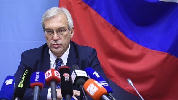 Постоянный представитель Российской Федерации при НАТО Александр Грушко - Sputnik Србија
