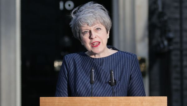 Британска премијерка Тереза Меј - Sputnik Србија