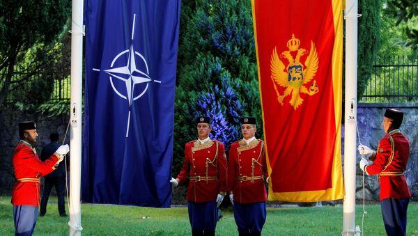 Подизање црногорске заставе у седишту НАТО-а - Sputnik Србија