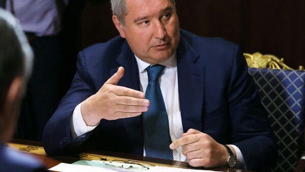 Заместитель председателя правительства России Дмитрий Рогозин - Sputnik Србија