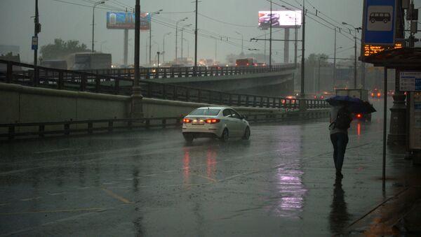 Јака киша у Москви - Sputnik Србија