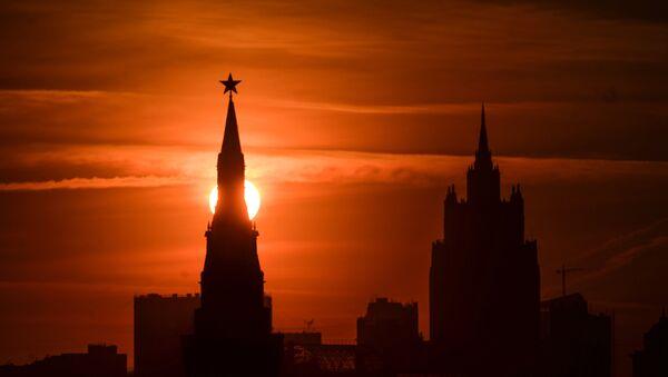 Kremlj tokom zalaska sunca - Sputnik Srbija