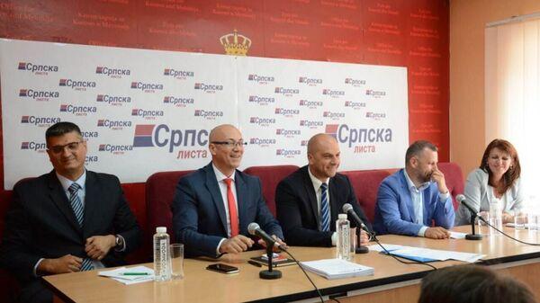 Izborna sednica GI Srpska lista Goran Rakić - Sputnik Srbija