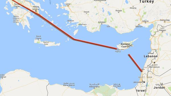 Област око Кипра у средоземном мору - Sputnik Србија