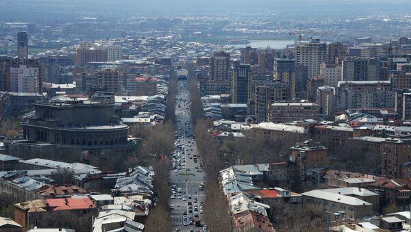 Поглед на град Јереван - Sputnik Србија