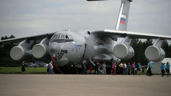 Авион Ил-76 МД на Међународном авио-космичком салону МАКС 2017 у Жуковском, у Русији. - Sputnik Србија