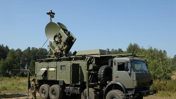 Радарски систем Красуха 4 на војним вежбама у Свердловску - Sputnik Србија
