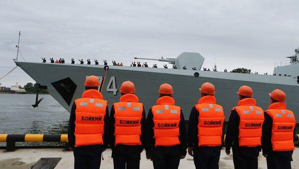 Три кинеска брода стигла у Балтијск - Sputnik Србија
