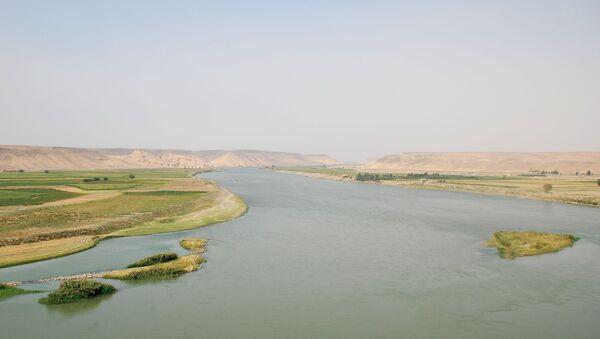 Река Еуфрат, Сирија - Sputnik Србија