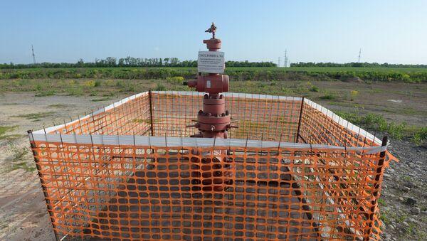 Bušotina za dobijanje uljnih škriljaca u Donjeckoj oblasti - Sputnik Srbija