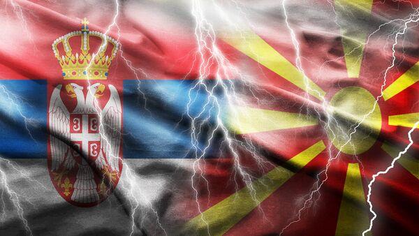 Србија и Македонија - Илустрација - Sputnik Србија