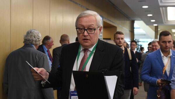Sergej Rjabkov - Sputnik Srbija