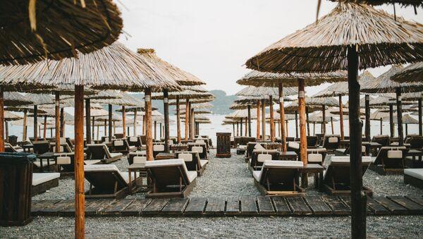 Plaža u Crnoj Gori - Sputnik Srbija
