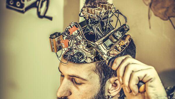 Ogled na mozgu-ilustracija - Sputnik Srbija