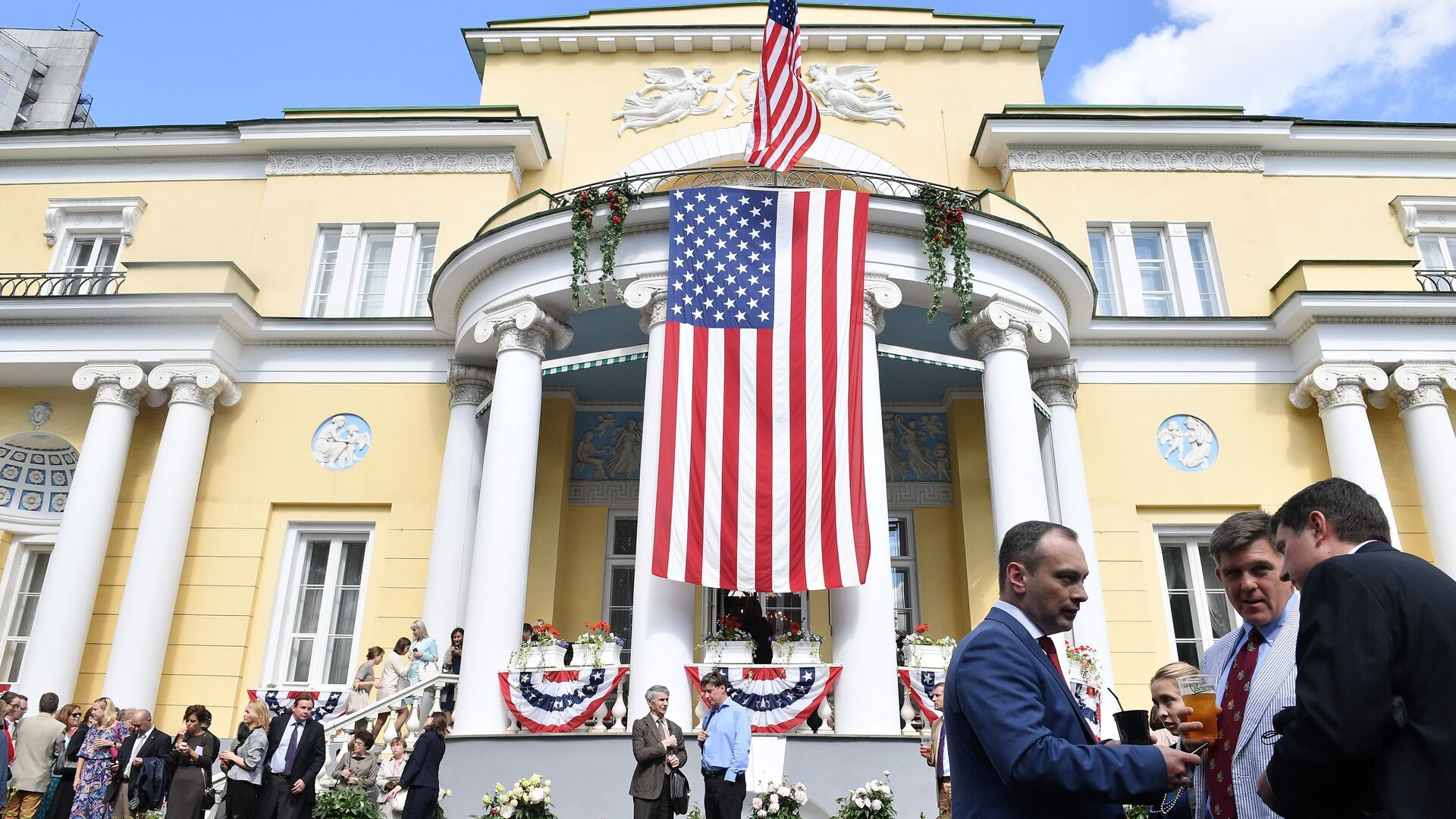Ambasada Amerike u Moskvi - Sputnik Srbija, 1920, 04.09.2021