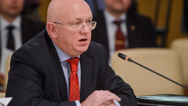 Стални представник Русије при Уједињеним нацијама Василиј Небензја - Sputnik Србија
