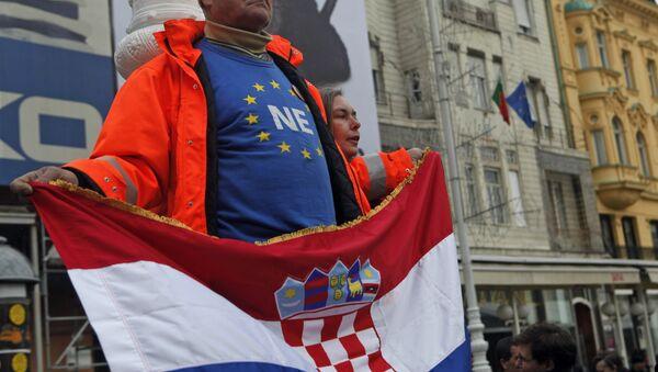 Hrvatska, zastava - Sputnik Srbija